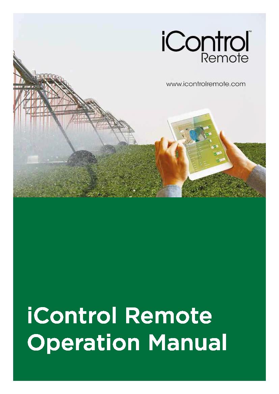 iControlRemote User Manual
